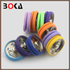 Excellent quality cotton covered colorful snap button for coat BK-BUT706