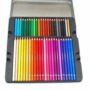 Wholesales Artist Grade 48 Color Pencil in Tin Box