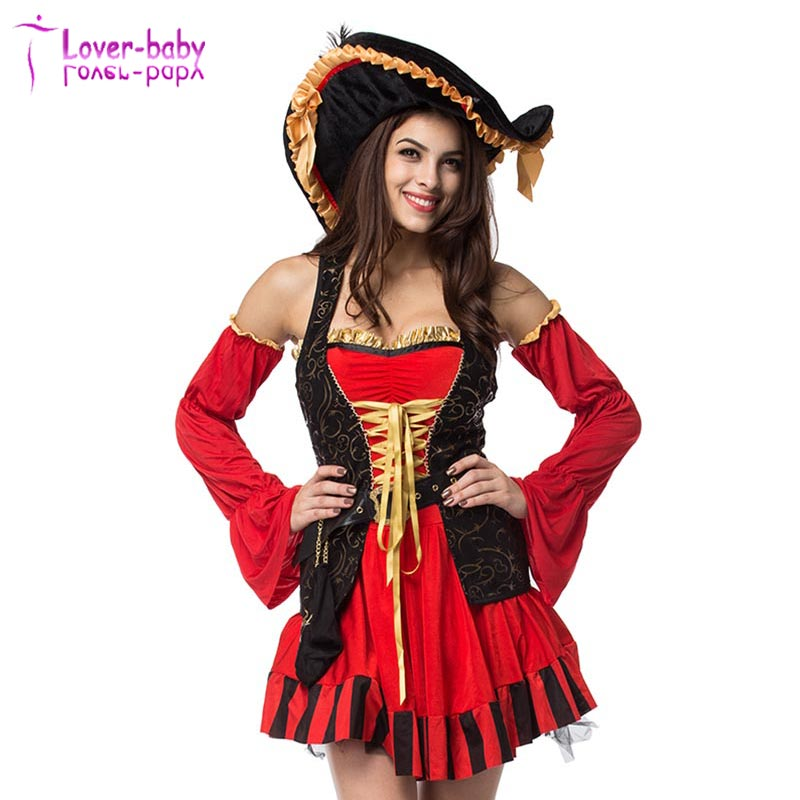 Occhio delle donne Della Caramella Spagnolo Pirate Costume Con ...
