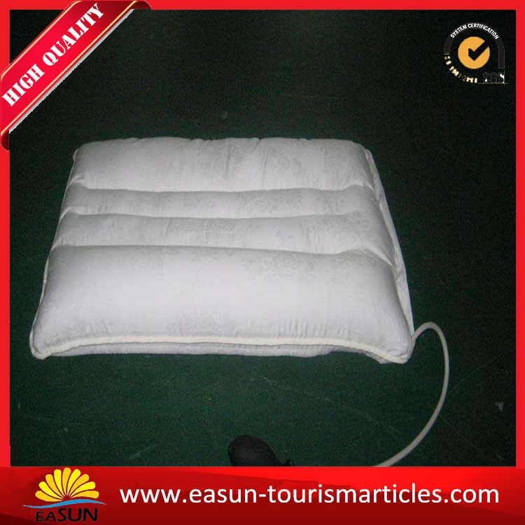 Nice inflatable neck pillow aviation terry cloth inflatable pillow inflatable transparent pillow