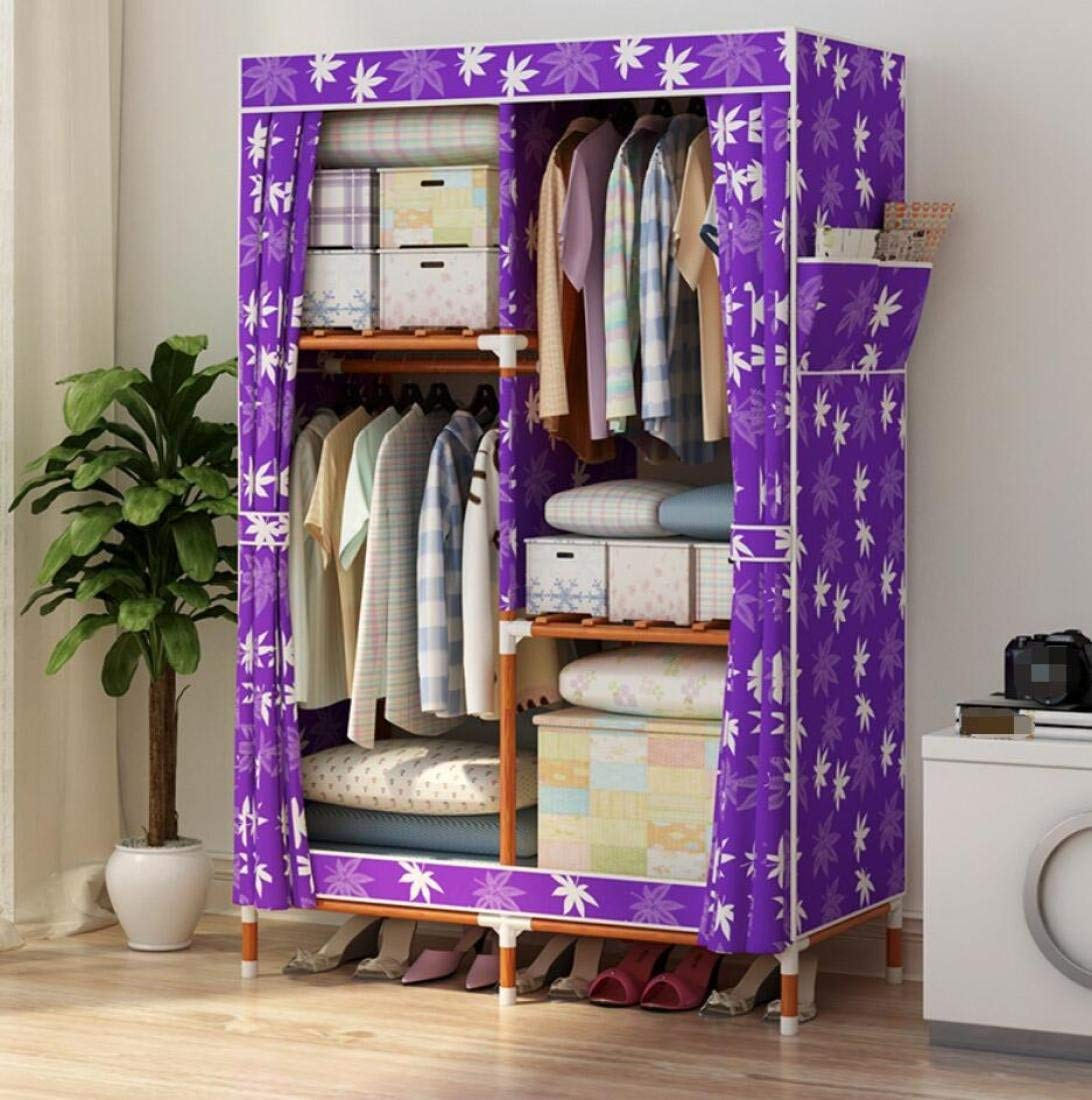 GLu0026G Wardrobe Closet Portable Oxford Cloth Free Standing Storage Organizer  U2013 Home Finishing Decoration Portable,