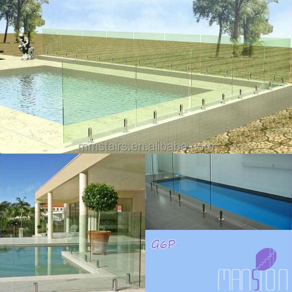 edelstahl glas gel nder pool zaun br stung und gel nder produkt id 1665200985. Black Bedroom Furniture Sets. Home Design Ideas