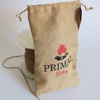 High Quality Printed Jute Gunny Bag Used Whole Burlap Bags