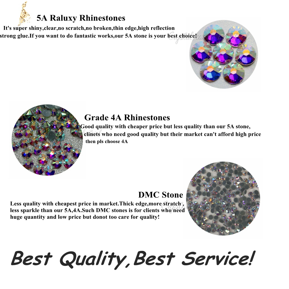 cc86c9289fc0f6 Crystal Castle Strass Hotfix 10SS 5A Best Shiny Mix Colors DIY Iron On  Transfer Art Craft
