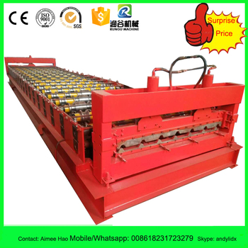 Galvanized Roof Tiles Sheet Metal Roller Machine South