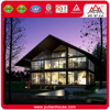 High quality prefabricated glass steel buildings prefab villa