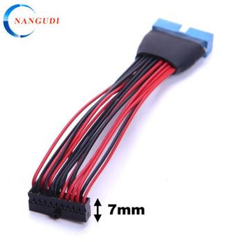 Perfil Bajo Conector Usb 3 0 20 Cable Plano Pin Buy