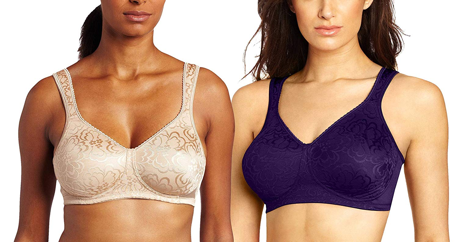 310a9ee0bf8 Get Quotations · Playtex 4745 Women s 18-Hour Wire-Free Bra