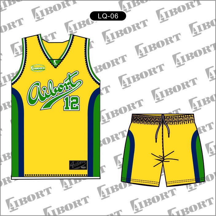 wholesale basketball uniform design new