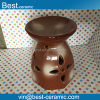 aroma stoneware fragrance tealight oil burner,stoneware candle incense burner wholesale,stoneware oil warmer