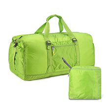 Custom Canvas Foldable Waterproof Duffel Bag for Outdoor Sports