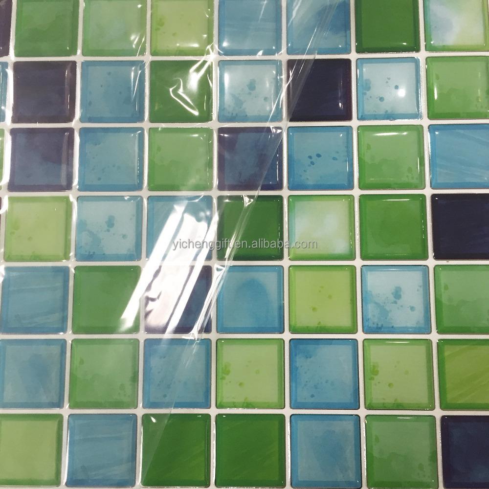 Finden Sie Hohe Qualität 3d Mosaik Fliesen Aufkleber Hersteller und ...