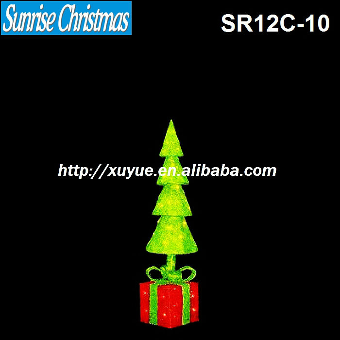2012 best selling Christmas items/ Light up xmas tree/Christmas decoration with lights
