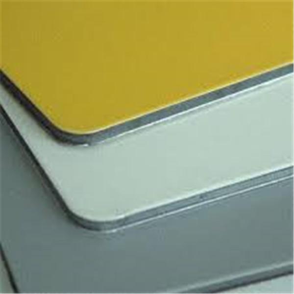 Acp Panneau Sandwich En Plastique En Aluminium Panneau Composite