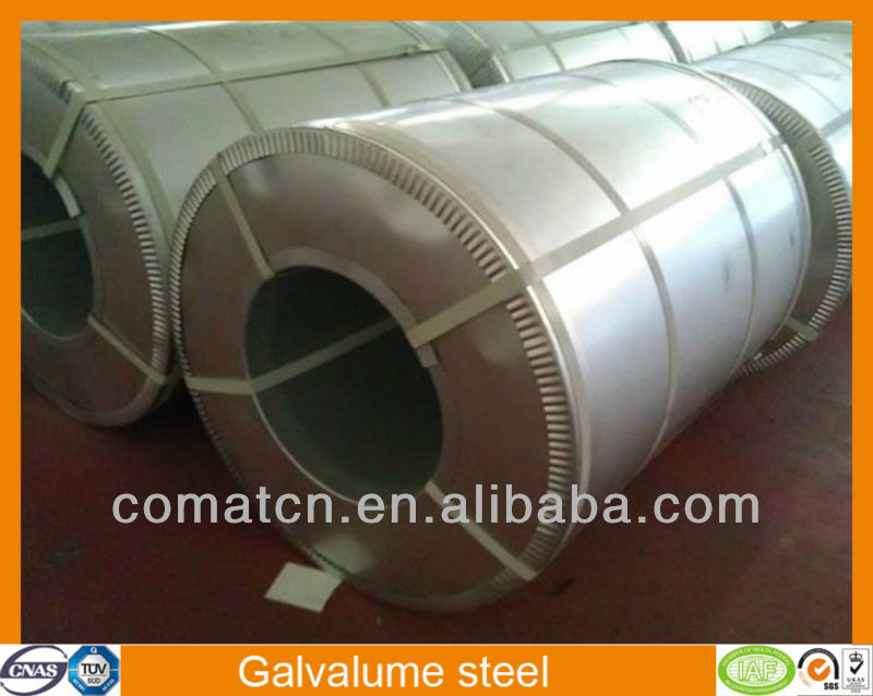 Alu-zinc coating steel with competitive price, china plant