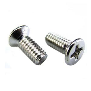 Production and sales 120 degree flat head screw