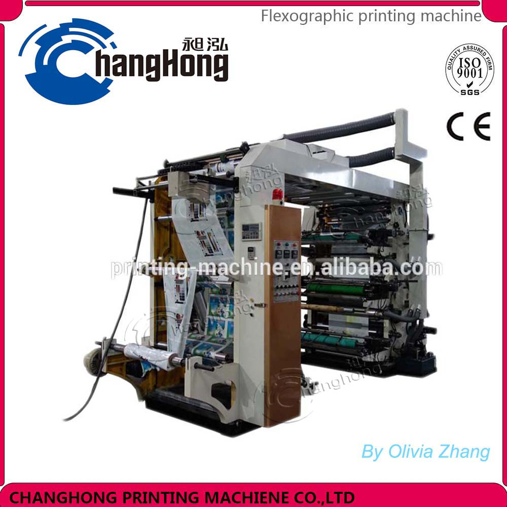 Changhong 6 color Tissue Paper printing machine processing machine in Rui'an Wenzhou