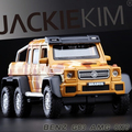New Benz G63 AMG 6X6 SUV 1 32 toys car model Mercedes Benz G Class pull
