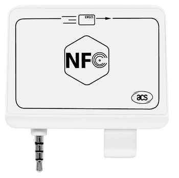 Acr35 Mobilemate Card Reader For Ios & Android Phones Mini Portable Nfc  Reader Writer Sdk 35mm Audio Jack Magnetic Card Reader - Buy Android Nfc  Card