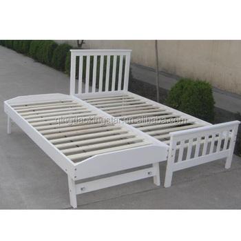 Cheap Wooden Folding Single Bed Ks sb04