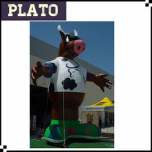 hot giant inflatable cow/inflatable bull
