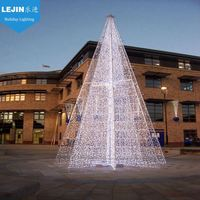 high quality flagpole christmas light for holiday decorative