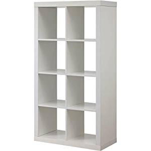 Get Quotations · Better Homes And Gardens White 8 Cube Organizer Creates  Multiple Storage Solutions Horizontal Or Vertical