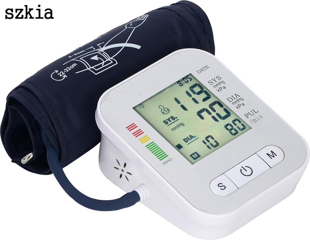 Hot selling digital blood pressure machine brands of monitors bp monitoring for home and hospital use