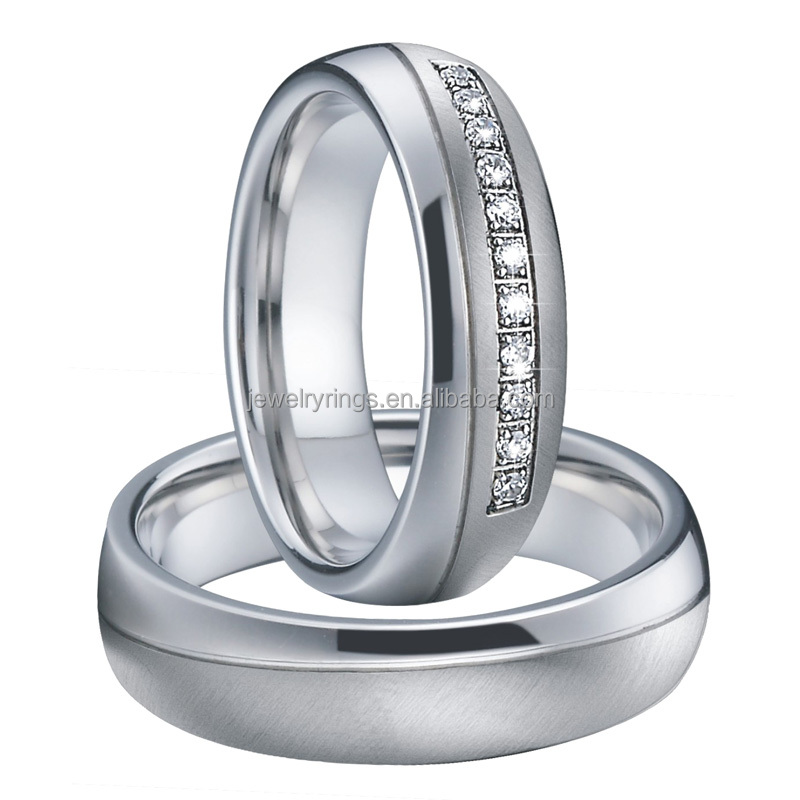 titanium stainless steel jewelry wedding band couple <strong>ring</strong>