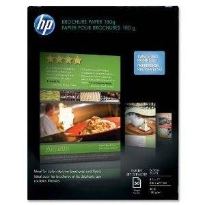 "Hewlett Packard Paper - Glossy Photo Paper - White - Letter - 50 Pcs. - By ""Hewlett Packard"" - Prod. Class: Office Machines And Supplies/Paper/Labels/Transparencies/Plastic Card / Small Format Cut Sheet Output Media"
