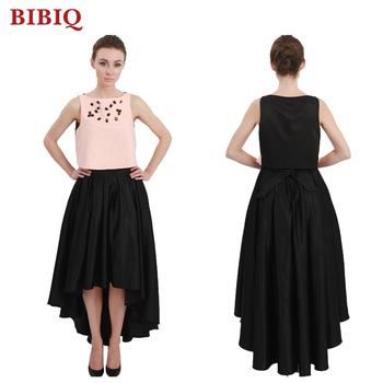 Fashionable Ladies Elegant Dovetailed Beaded Mid Calf Women Dress