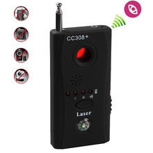 Anti Spy Full-Range Detector For Signal Bug RF Detector Camera Laser Lens GSM Device Finder CS001