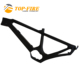 top fire 2018 Carbon Fiber Electric Bicycle Frame with Shima motor Thru-axle142*12mm Carbon Mountain E-bike frameset
