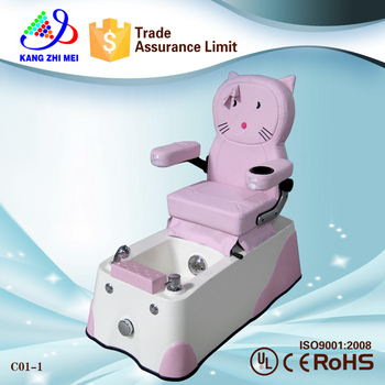 beauty nail salon kids pedicure chair/hot sale pedicure chairs for kids