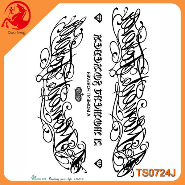 Tattoo Factory,Self-Adhesive Reusable Tattoo,Skin Temporary Tattoo