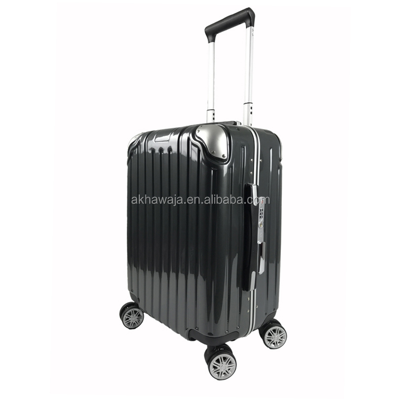hot new luggage aluminium hard shell suitcases trolley case