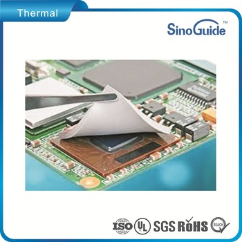 White tcp100 series thermal conductive pad for Notebook PC Soft Pad