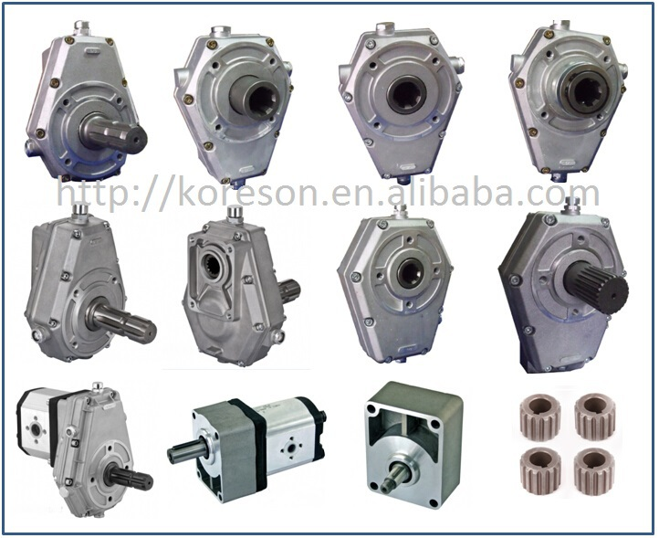 Speed Increasing Pto Gear Box For Tractor Pto