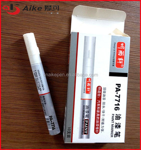Aluminum Barrel acrylic Paint Marker for industry