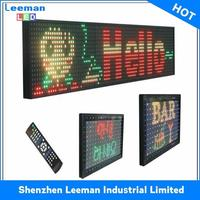 video play sexy p6 indoor screen high quality outdoor led sign