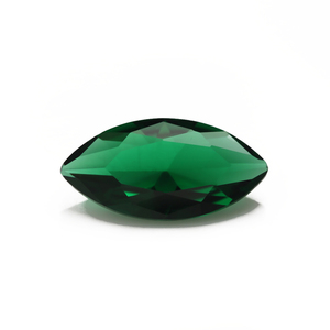 marquise shape glass stone green gemstone for jewelry