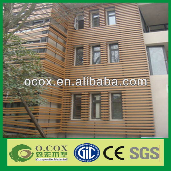 Made In China Best Selling Good Quality Outdoor Waterproof WPC Wall Panel