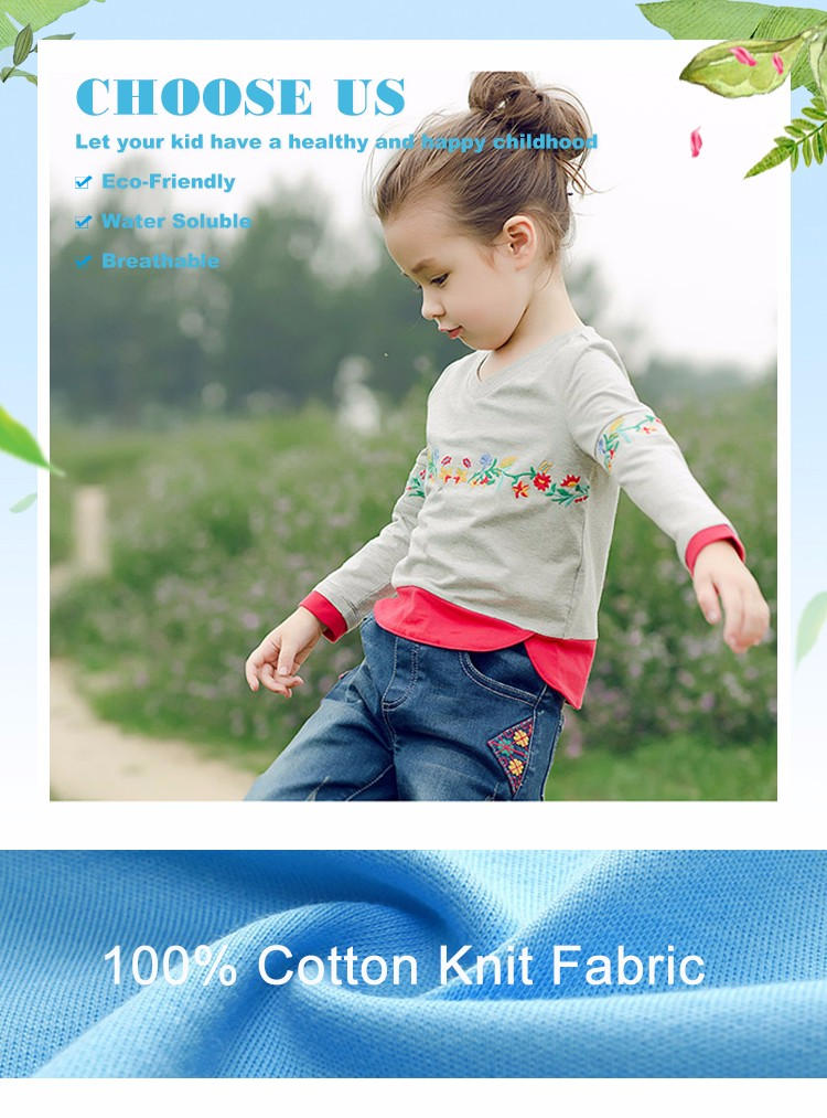 Latest Design Casual Outerwear Summer Baby Cotton Tshirt
