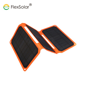 Flexsolar 15w Best Selling Products Used Mobile Phones Foldable Solar Charger Solar Panel For Mobile Charger