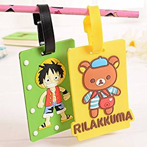 Piece Winnie the Korean version of the cartoon luggage tag sets can be used for campus card luggage tag tag listing using creative sets of documents