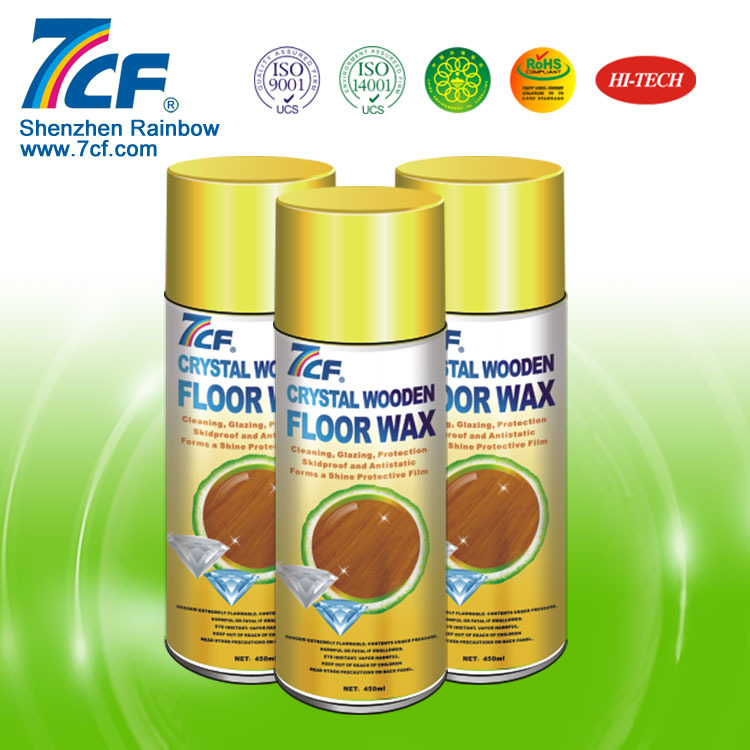 7CF Household Floor Polishing Wax Spray