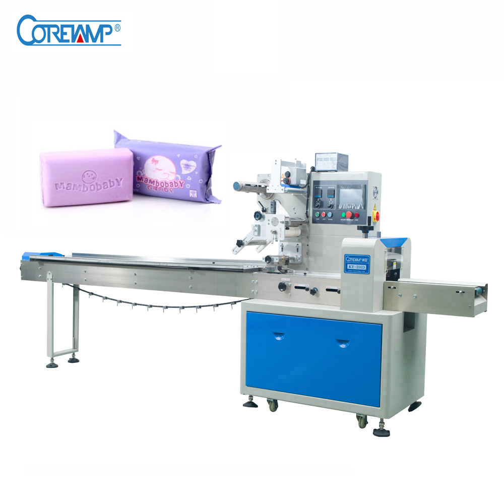 Full automatic Soap sponge packing machine with Ce certification ready to ship