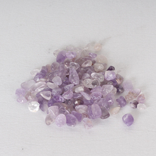 Chip <span class=keywords><strong>di</strong></span> Ametista naturale Tumbled Bulk All'ingrosso <span class=keywords><strong>di</strong></span> <span class=keywords><strong>Cristallo</strong></span> Amethyst Tumbled Stones