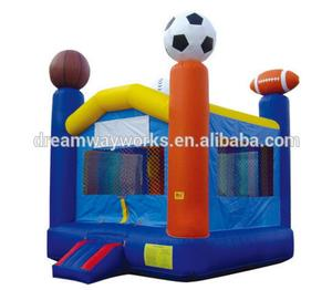 2018 sports jumping castles,giant inflatable bouncer,cheap inflatable bouncers for sale