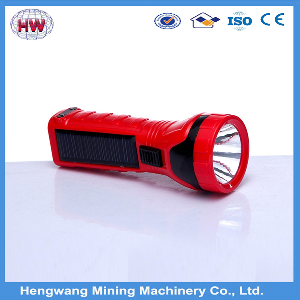 led rechargeable solar hand crank flashlight,Hand crank flashlight with radio and mobile charger